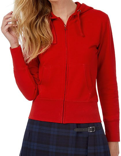 Hooded Full Zip / Women  G_BCWW642