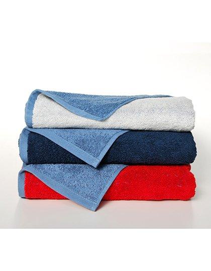 Double-Colour Maxi Bath Towel  G_BD770