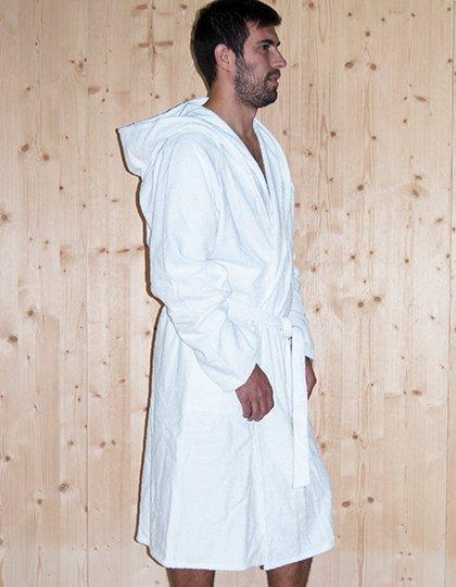 Quick-Dry Bathrobe Hooded / Men  G_BD964