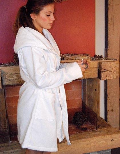 Quick-Dry Bathrobe Hooded / Lady  G_BD965