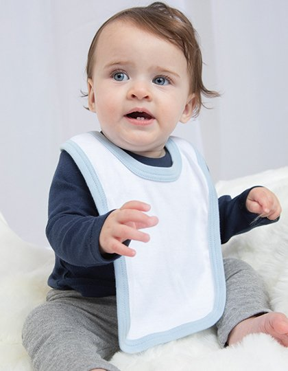 Baby Bib with Ties  G_BZ16C