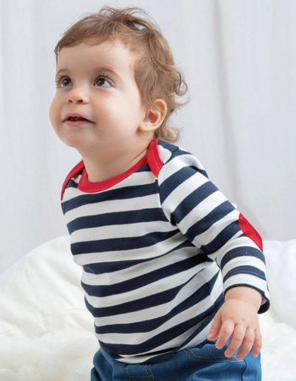 Baby Stripy Long Sleeve T  G_BZ38
