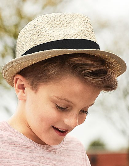 Junior Straw Trilby  G_CB720B
