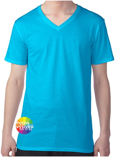 Featherweight V-Neck Tee  G_A362