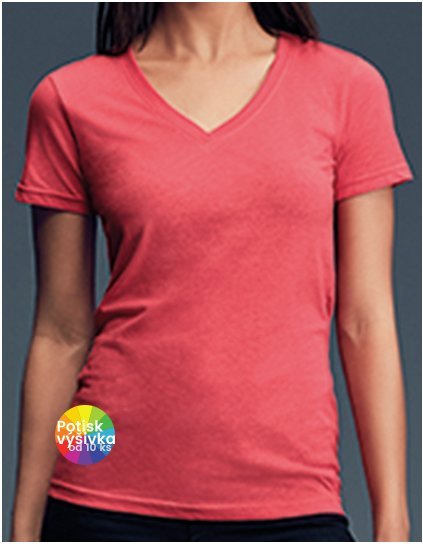 Women`s Featherweight V-Neck Tee  G_A392