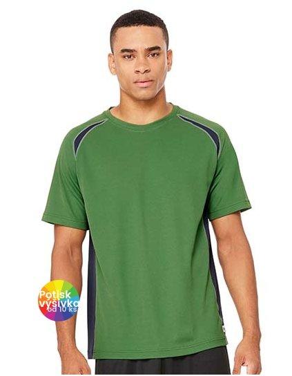 Unisex Colorblock Short Sleeve Tee  G_ALM1004