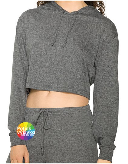 Women`s Tri-Blend Cropped Hoodie  G_AM3353