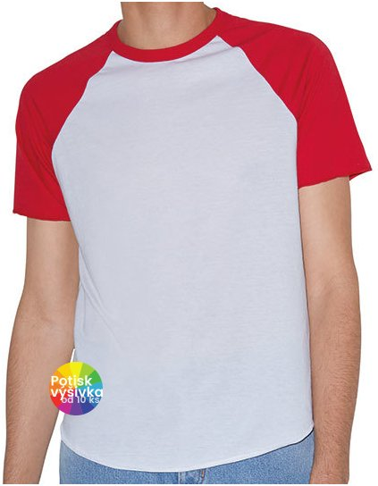 Unisex Poly-Cotton Short Sleeve Raglan T-Shirt  G_AM4237