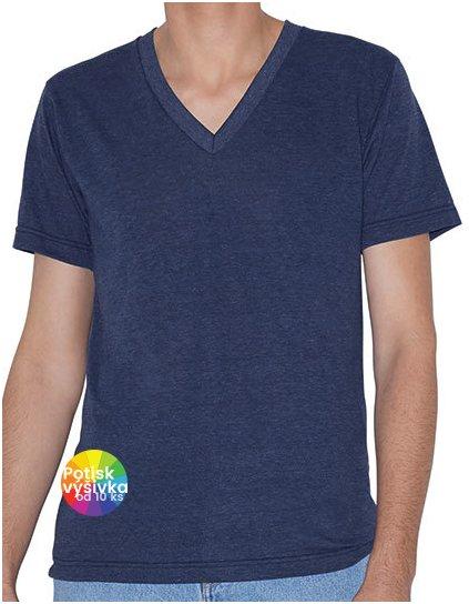 Unisex Tri-Blend Short Sleeve V-Neck T-Shirt  G_AM461