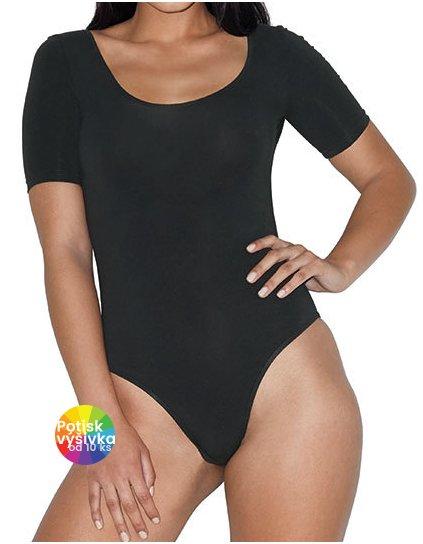 Women`s Jersey Short Sleeve Double U-Neck Bodysuit  G_AM8373