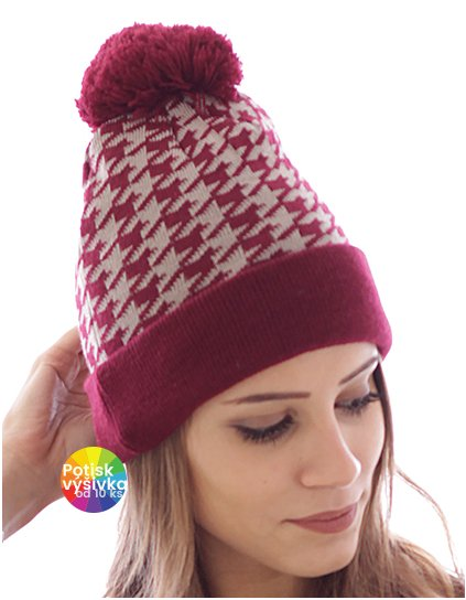 Share - Jaquard Beanie  G_AT777