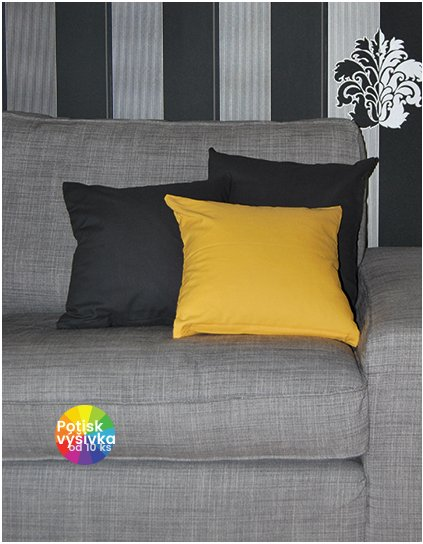 Cushion Cover Canvas With Zip 40 x 40 cm  G_BD840