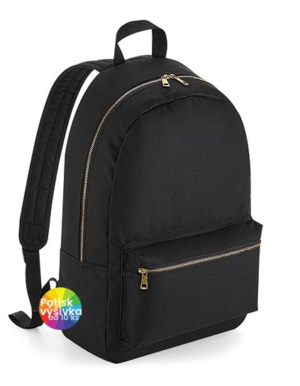 Metallic Zip Backpack  G_BG235