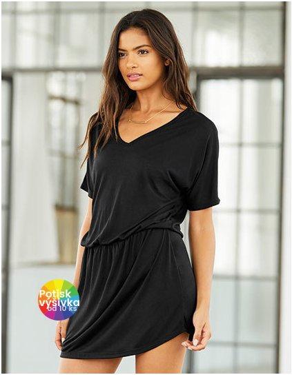 Women`s Flowy V-Neck Dress  G_BL8812