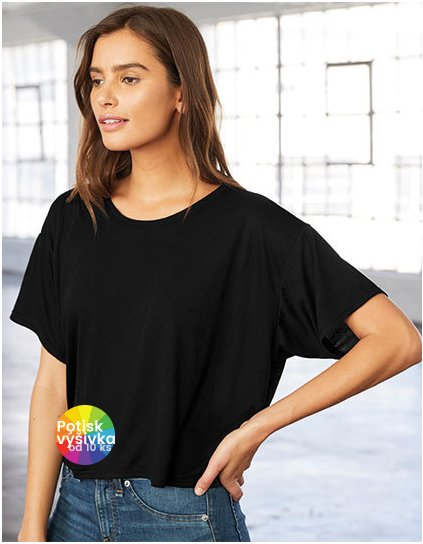 Flowy Boxy T-Shirt  G_BL8881