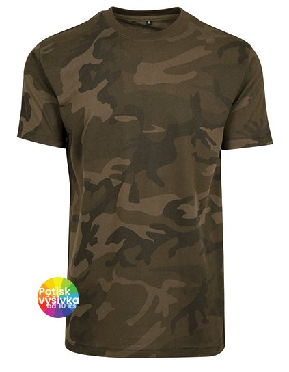 Camo Round Neck Tee  G_BY109