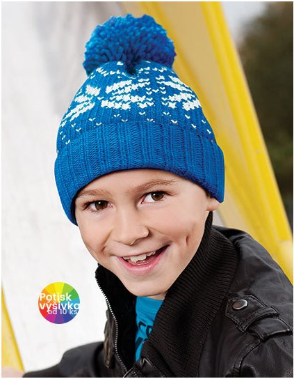 Junior Fair Isle Beanie  G_CB456B