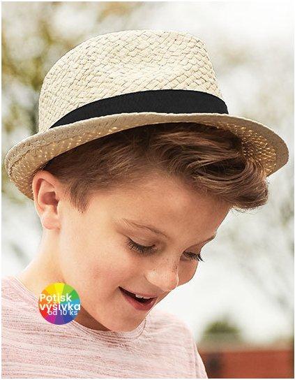 Junior Straw Trilby  G_CB720B