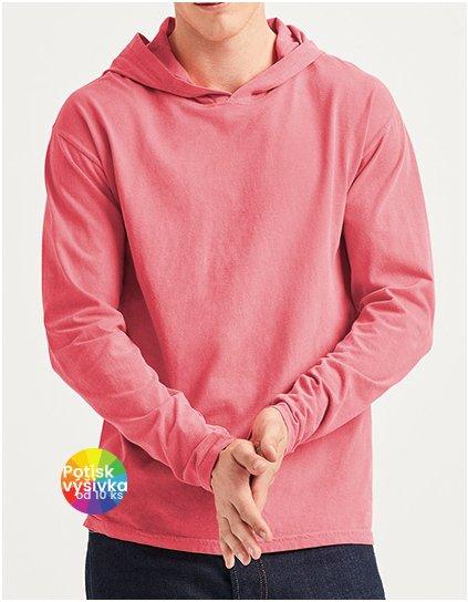 Adult Heavyweight Long Sleeve Hooded Tee  G_CC4900