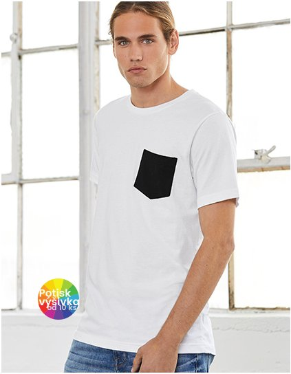Men`s Jersey Short Sleeve Pocket Tee  G_CV3021
