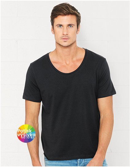 Men`s Wide Neck Tee  G_CV3406