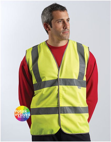 Professional Safety Vest Yellow  G_DK22010