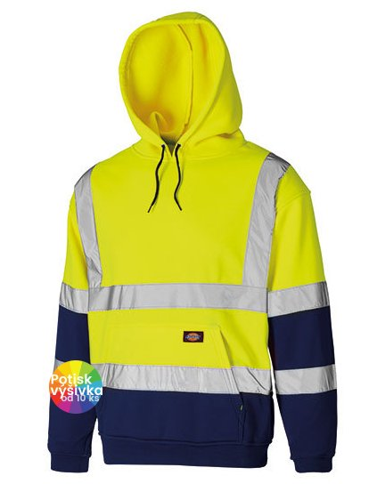 Two Tone High Visible Hoody  G_DK22095