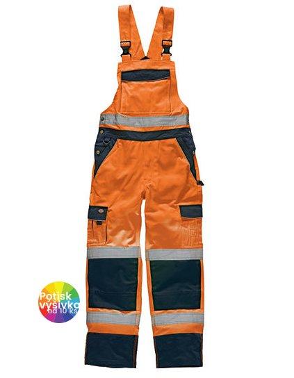 Industry Hi-Vis Bib and Brace EN20471  G_DK30045