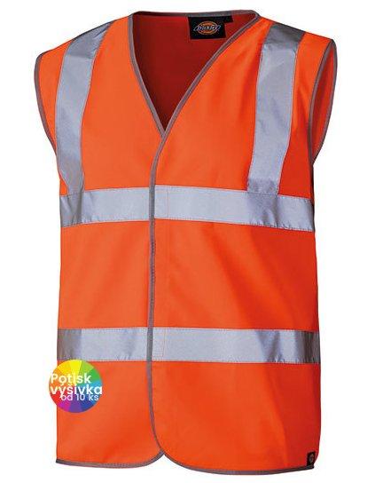 Professional Safety Vest Orange  G_DK30310