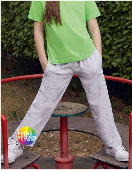 Kids Lightweight Open Hem Jog Pants  G_F490K