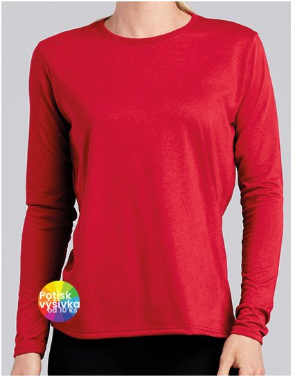 Performance® Ladies` Long Sleeve T-Shirt  G_G42400L