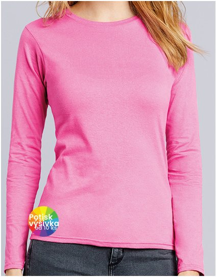 Softstyle® Ladies` Long Sleeve T-Shirt  G_G64400L