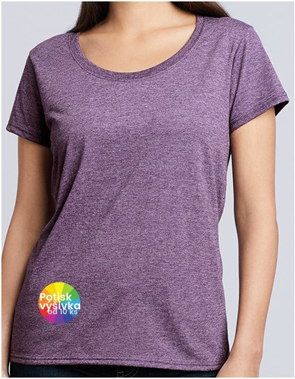 Softstyle® Ladies` Deep Scoop T-Shirt  G_G64550L