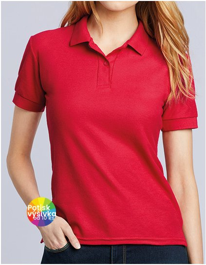 DryBlend® Ladies` Double Piqué Polo  G_G75800L