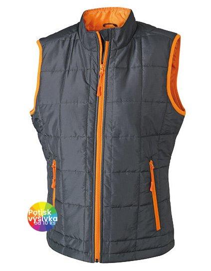 Ladies` Padded Light Weight Vest  G_JN1036