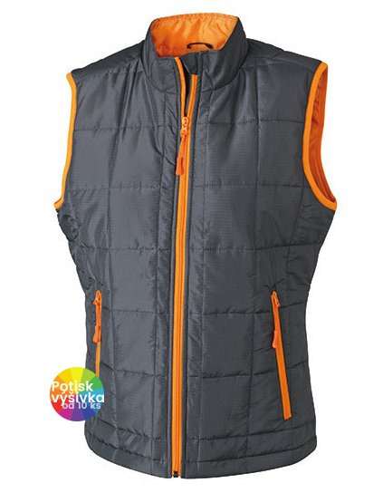 Ladies` Padded Light Weight Vest  G_JN1036