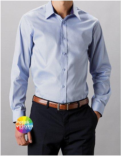 Men`s Tailored Fit Contrast Premium Oxford Shirt Long Sleeve  G_K189
