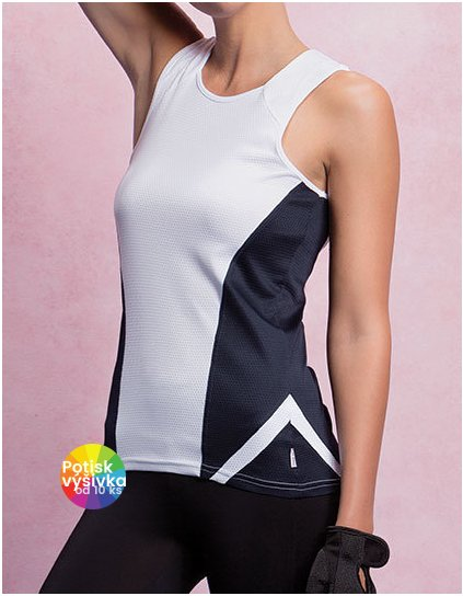 Women`s Regular Fit Sports Vest  G_K963