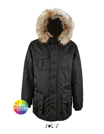 Men`s Warm and Waterproof Jacket Ryan  G_L02108