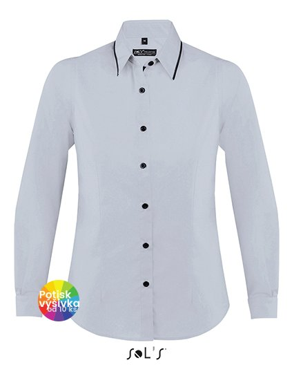 Women`s Long Sleeves Fitted Shirt Baxter  G_L608