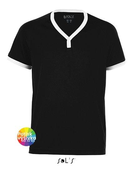Kids` Short-Sleeved Shirt Atletico  G_LT01176