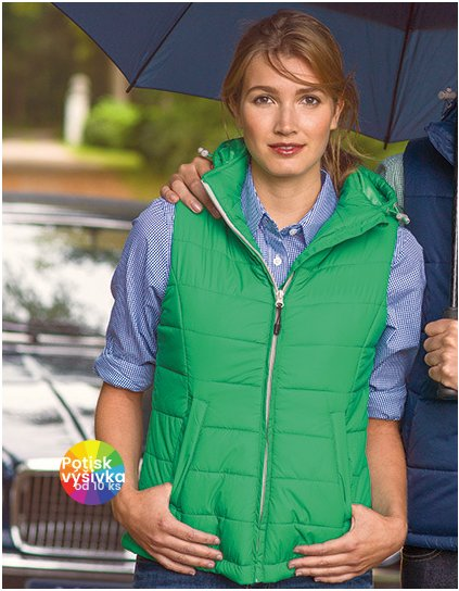 Women Mixed Doubles Bodywarmer  G_N3426