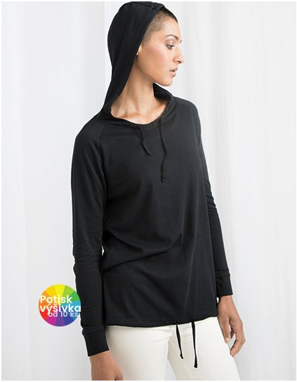 Women`s Loose Fit Hooded T  G_P118