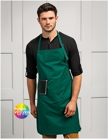 Deluxe Bib Apron with Pocket  G_PW24