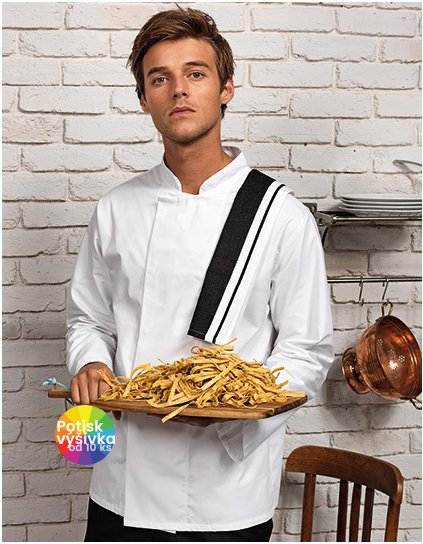 Coolmax Long Sleeve Chefs Jacket  G_PW659