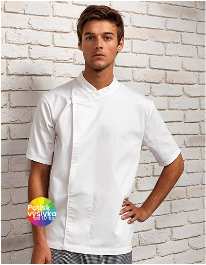 Chef´s Short Sleeve Pull on Tunic  G_PW668