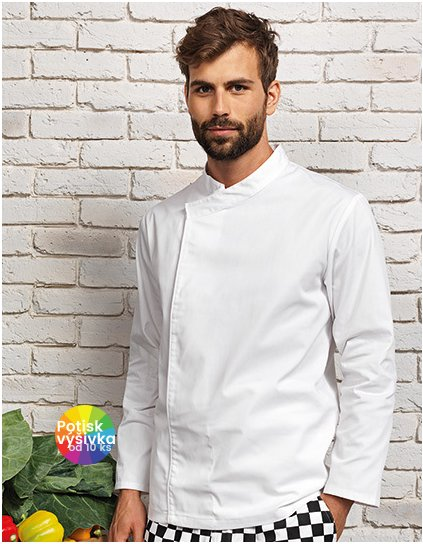 Chef´s Long Sleeve Pull on Tunic  G_PW669