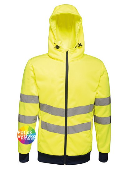 Hi-Vis Pro FZ Extol Stretch Hoodie Jacket  G_RG4710