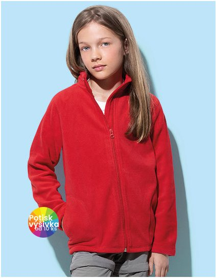 Active Fleece Jacket for children  G_S5170K
