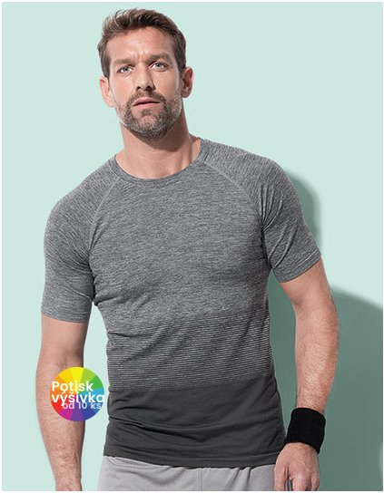 Active Seamless Raglan Flow for men  G_S8810
